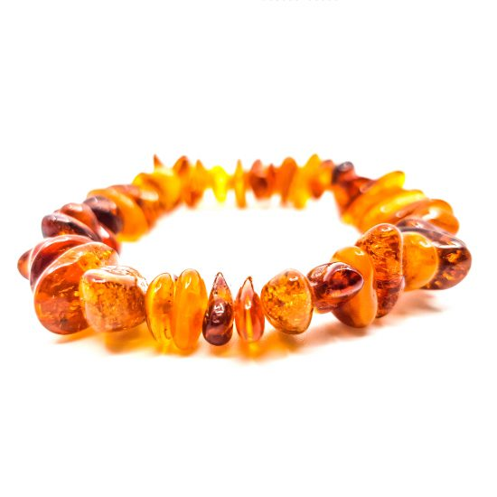 B0001 A 550x550 - Delicate amber bracelet -bracelet