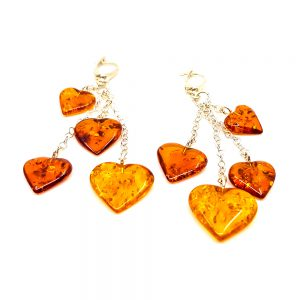K0009 B 300x300 - Earrings hanging hearts -earrings