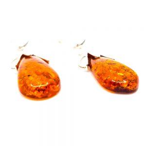 K0012 D 300x300 - Amber tear earrings -earrings